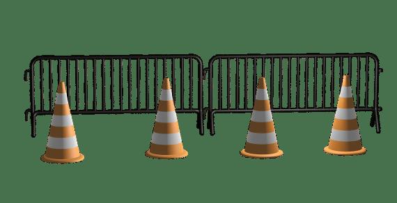 Barrière de sécurité chantier: pour quels usages ?